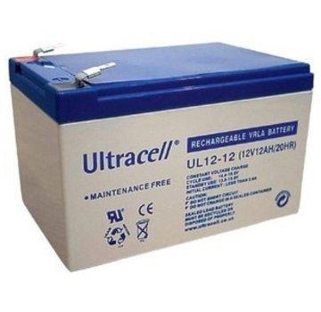 Ultracell Ultracell UL12-12 VRLA Loodaccu 12V 12Ah