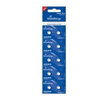 MediaRange Mediarange Alkaline/LR626 AG4 Knoopcel 1.5V 10 stuks Blister