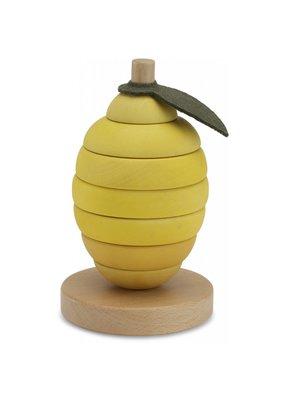Konges Sløjd Konges Sløjd Stacking Fruits Lemon