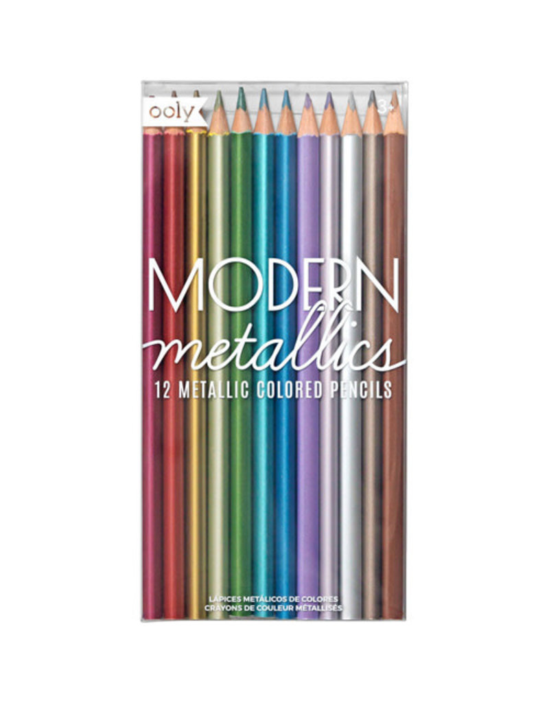 Ooly Ooly - Kleurpotloden 'Modern Metallic'