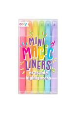 Ooly Ooly - Wisbare markeerstiften 'Mini Magic Liners'