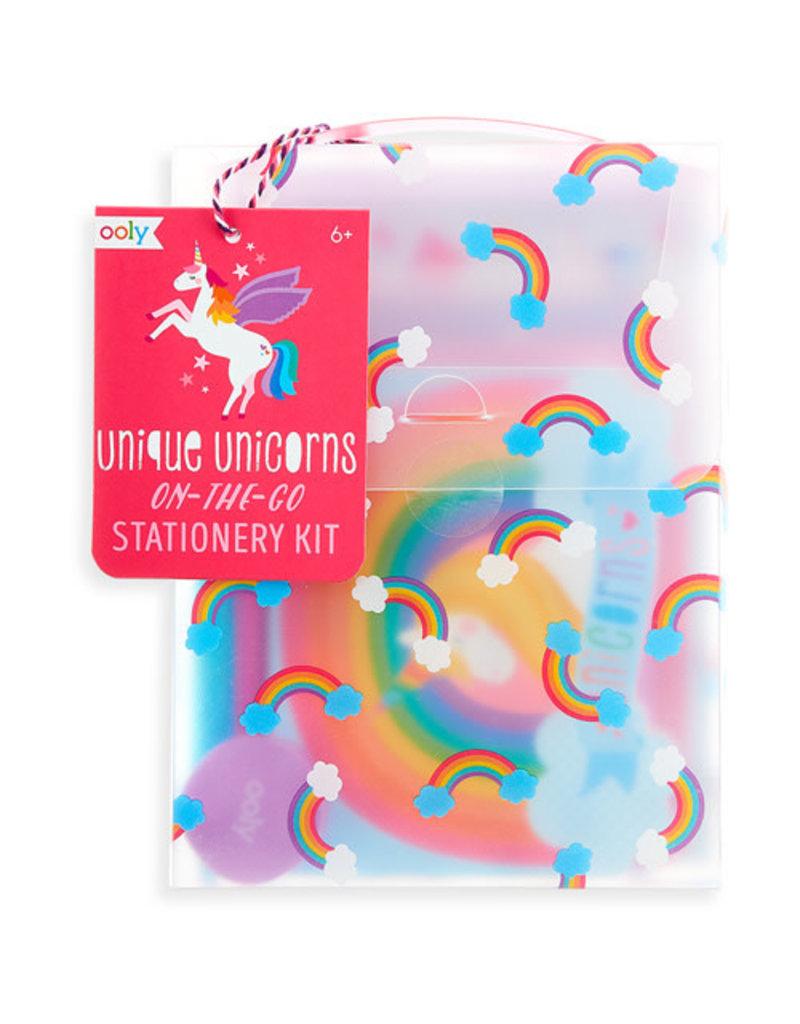 Ooly Ooly - Postpapier 'Unique Unicorns'
