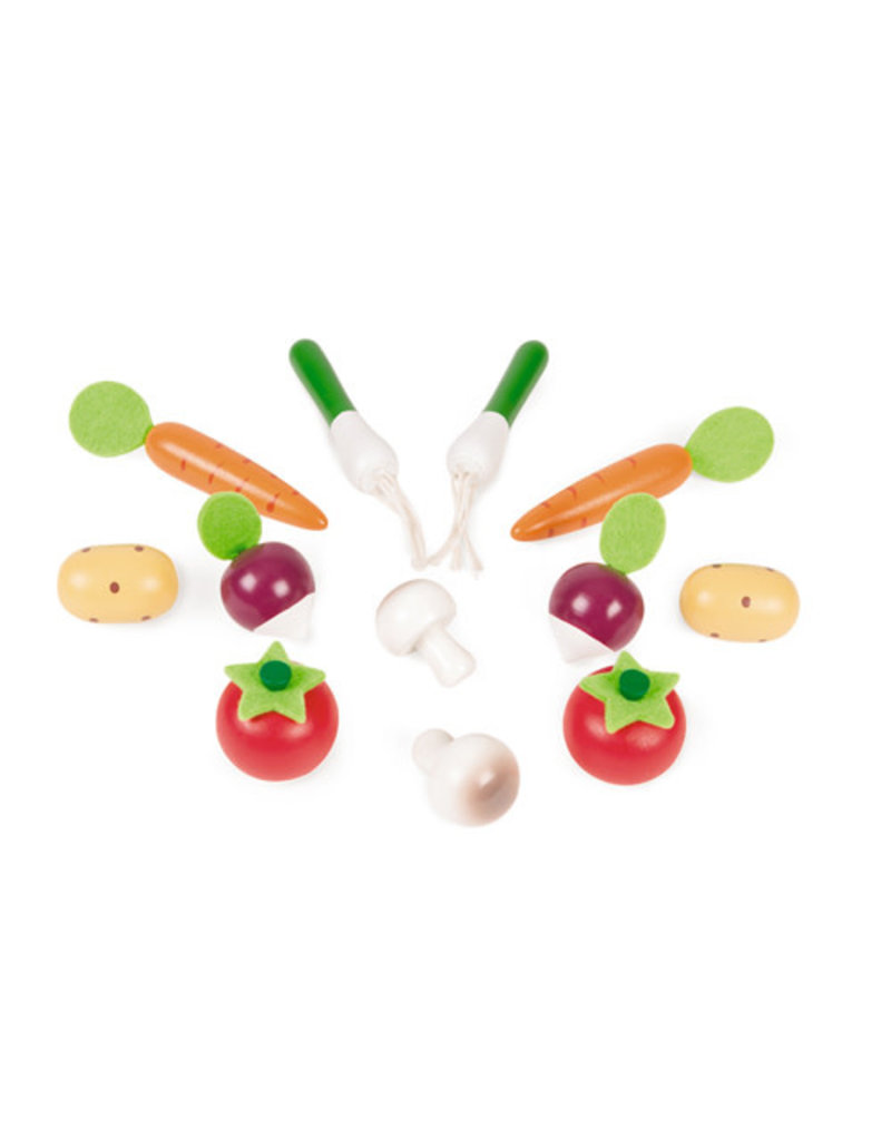 Janod Janod Krat groenten (12- delig)