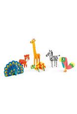 Janod Janod Atelier - 3D dieren kleuren
