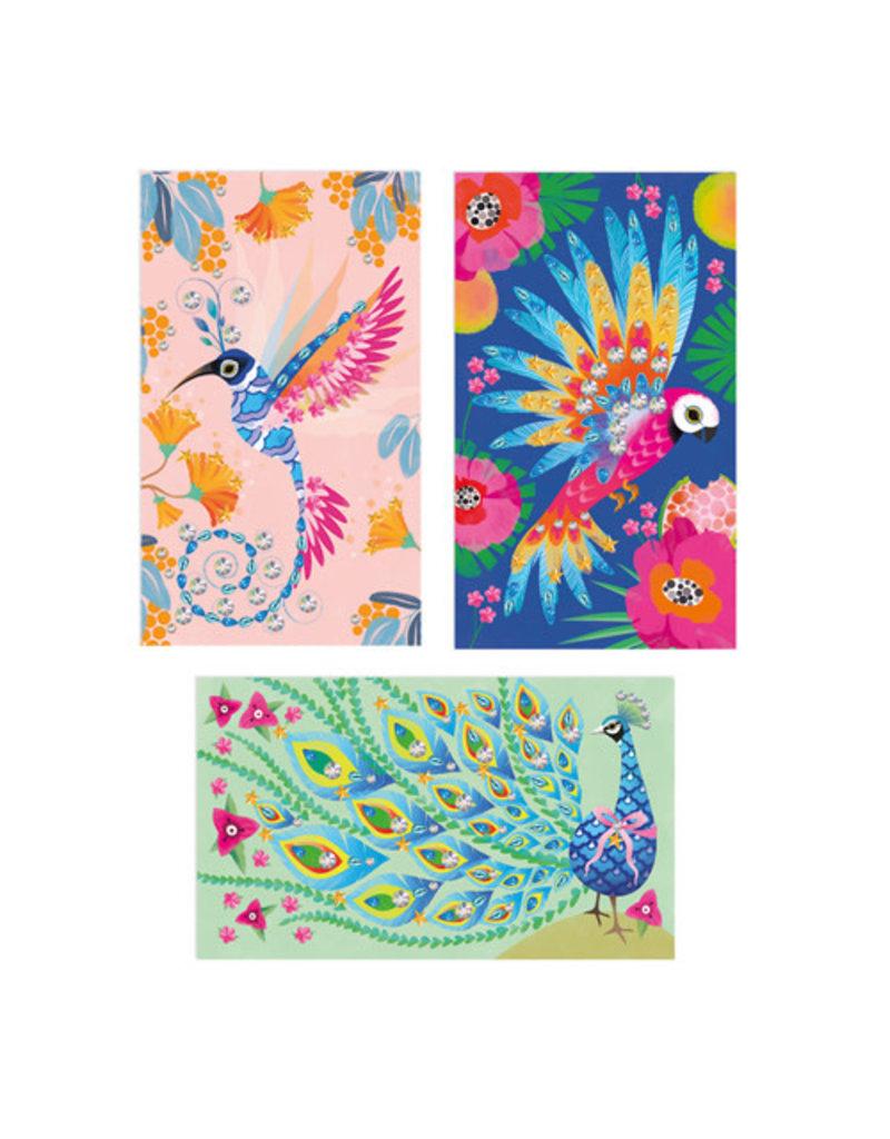 Janod Janod Atelier - Strass mooie vogels