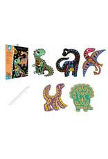 Janod Janod Scratch Art - Dinosaurus