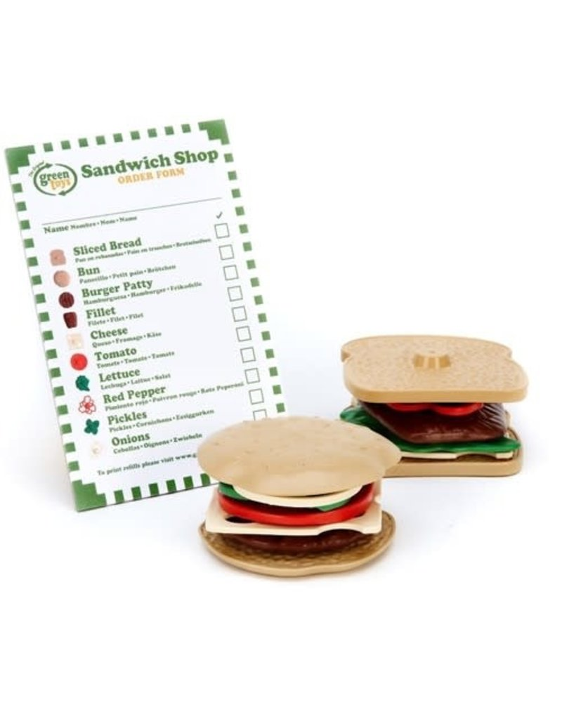 Greentoys Green Toys - sandwich set