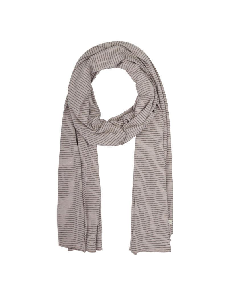 Phil & Phae Phil & Phae - scarf stripes XL straw