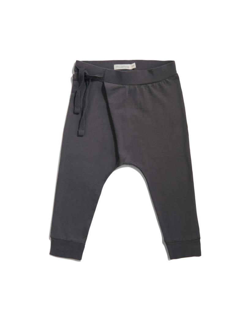 Phil & Phae Phil & Phae - harem pants essential - graphite 3 Y