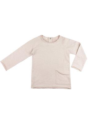Phil & Phae Phil & Phae - Raw-edged sweater essential - oatmeal