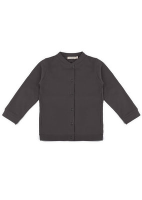 Phil & Phae Phil & Phae - Basic sweater cardigan essential - graphite