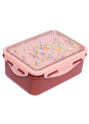 Petit Monkey Petit Monkey lunch box popsicles desert rose + soft coral