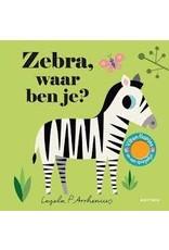 Boeken Boek - Zebra, waar ben je?
