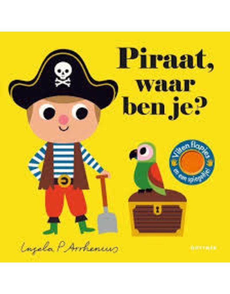 Boeken Boek - Piraat, waar ben je?