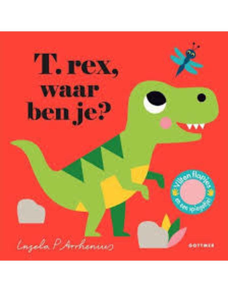 Boeken Boek - T.rex, waar ben je?