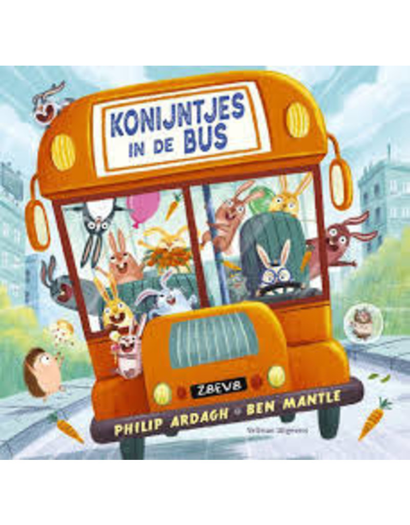 Boeken Boek - Konijntjes in de bus