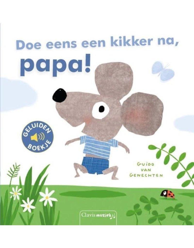 Boeken Clavis Boek - Doe eens een kikker na, papa!