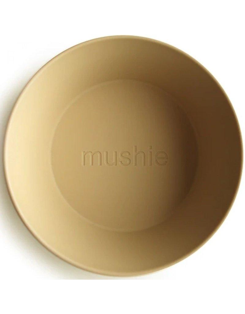 Mushie Mushie - kom - mosterd (2 stuks)