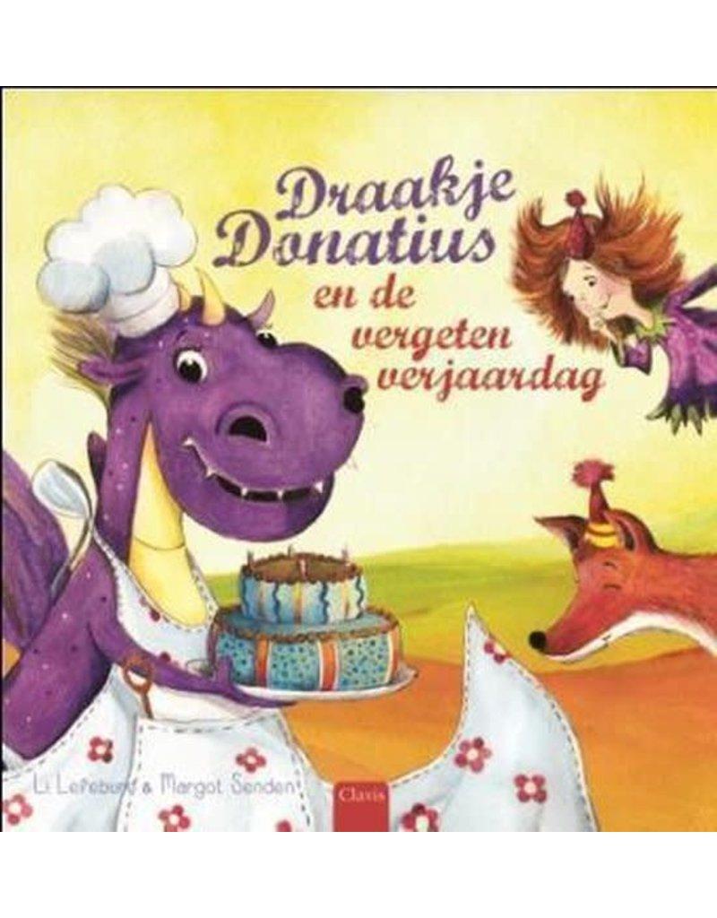 Boeken Clavis Boek - Draakje Donatius en de vergeten verjaardag