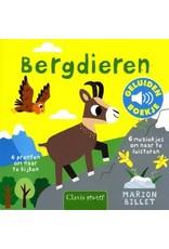 Boeken Clavis Boek - Bergdieren geluidenboekje