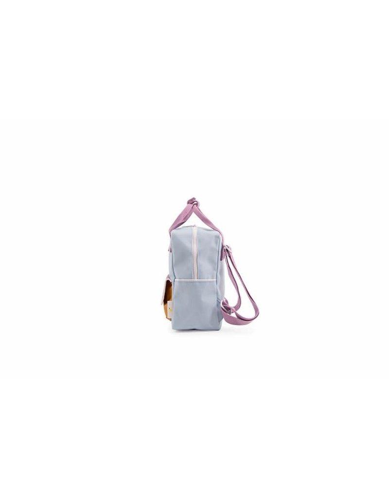Sticky Lemon Sticky Lemon small backpack wanderer | sky blue + pirate purple + caramel fudge