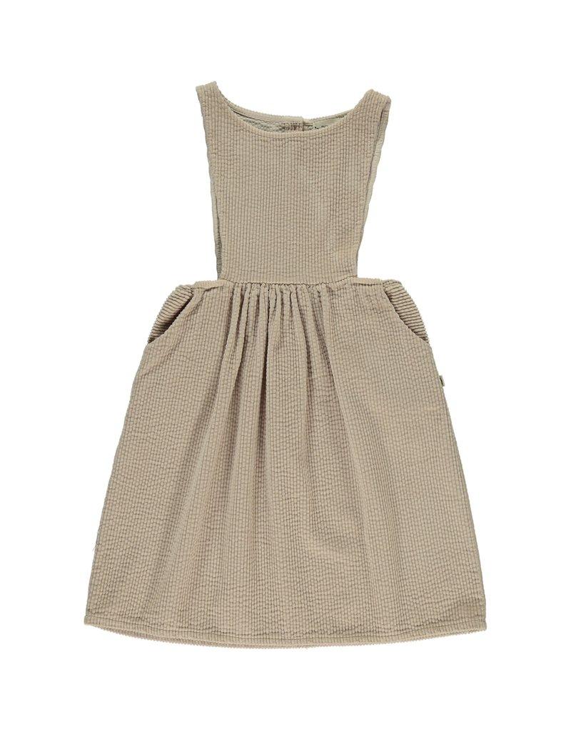 My Little Cozmo My Little Cozmo - Pinafore jurk kids corduroy - beige