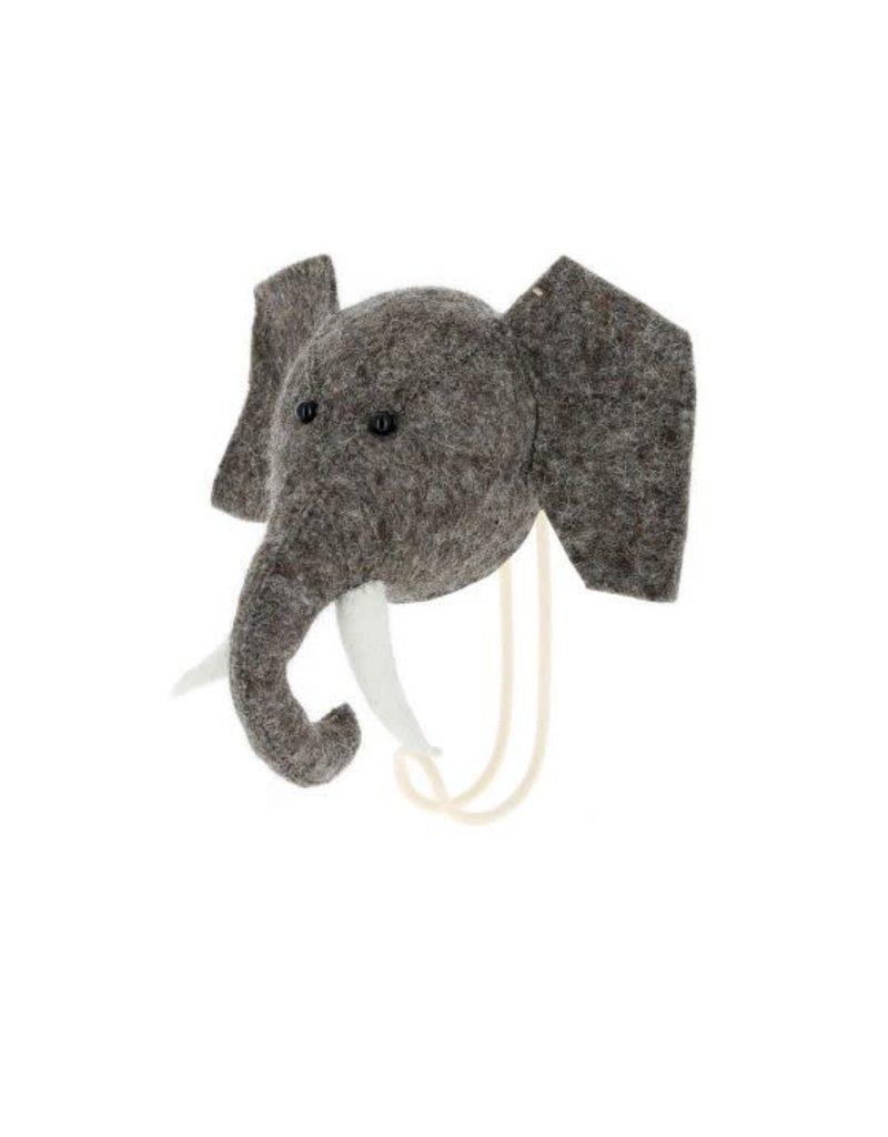 Fiona Walker England Fiona Walker - Big Single Head Hook Elephant
