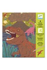 Djeco Djeco - Krasplaten dinosaurussen