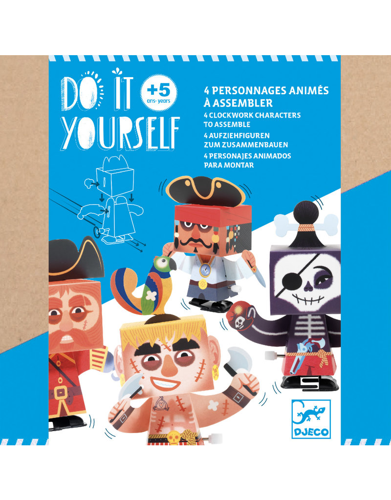 Djeco Djeco - Knutselset Piraten maken