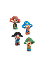 Djeco Djeco - Knutselset Grappige piraten