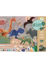Djeco Djeco - Knutselkoffer De wereld van de Dinosauriërs