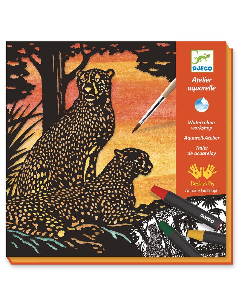Djeco Djeco - Aguarel jungledieren