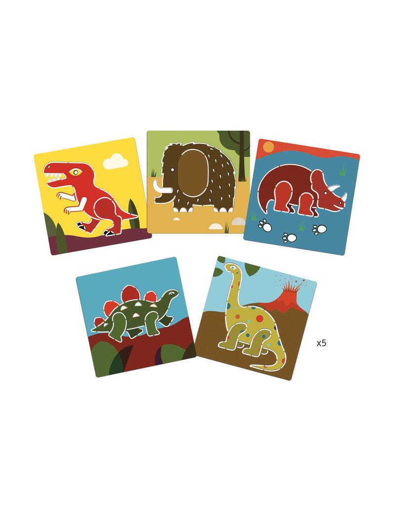 Djeco Djeco - Sjablonen Dinosaurussen