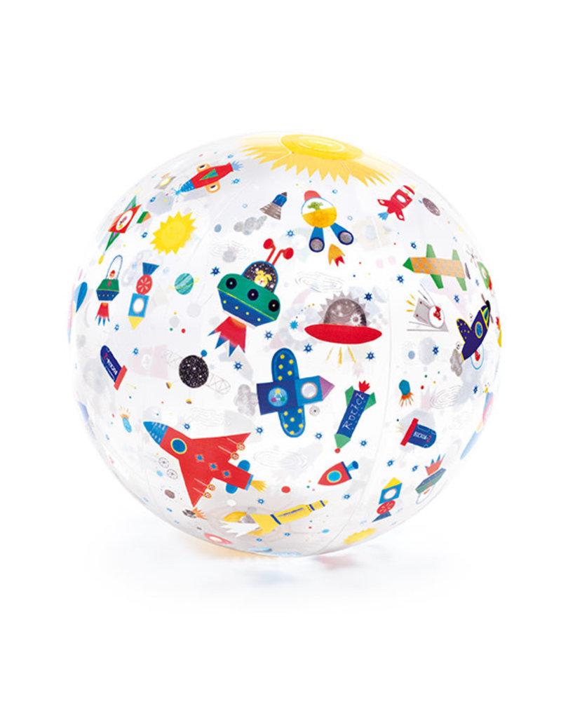 Djeco Djeco - Opblaasbal space
