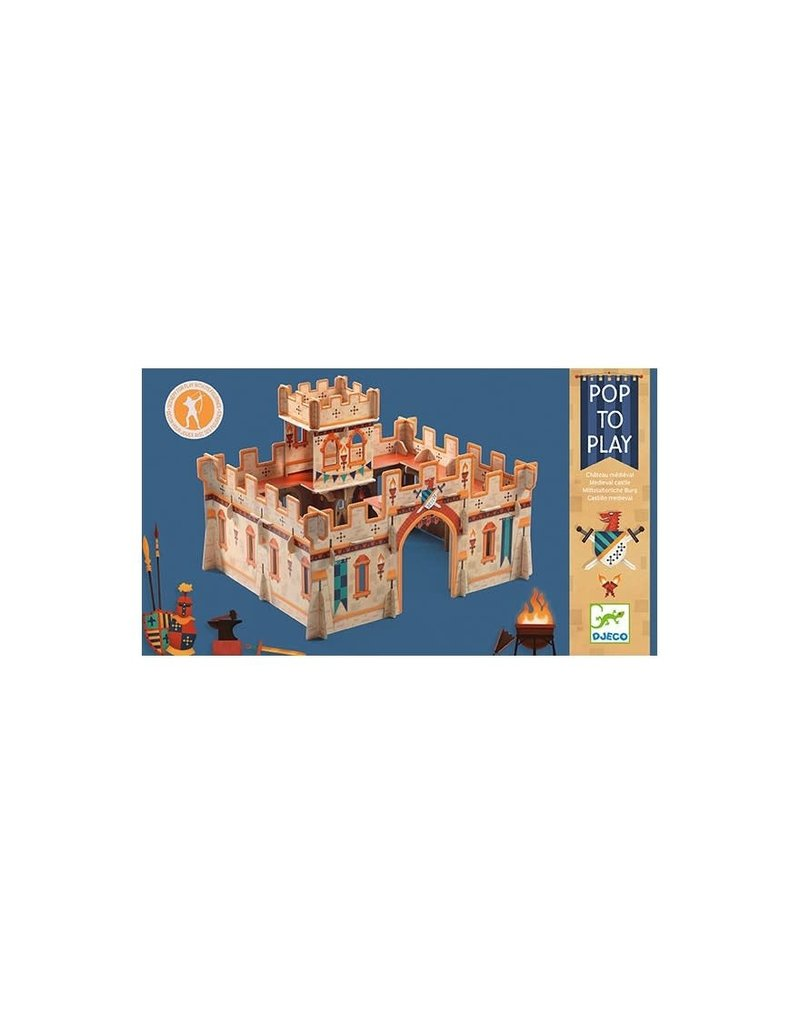 Djeco Djeco - Middeleeuws kasteel