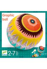 Djeco Djeco - Stoffen ballonbal grafisch