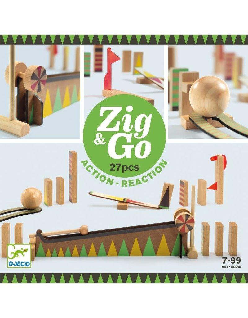 Djeco Djeco - Zig & Go - 5641 - 27 pc's*