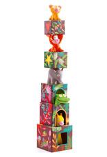 Djeco Djeco - Stapelblokken jungledieren
