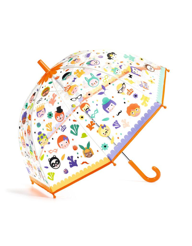 Djeco Djeco - Paraplu gezichten
