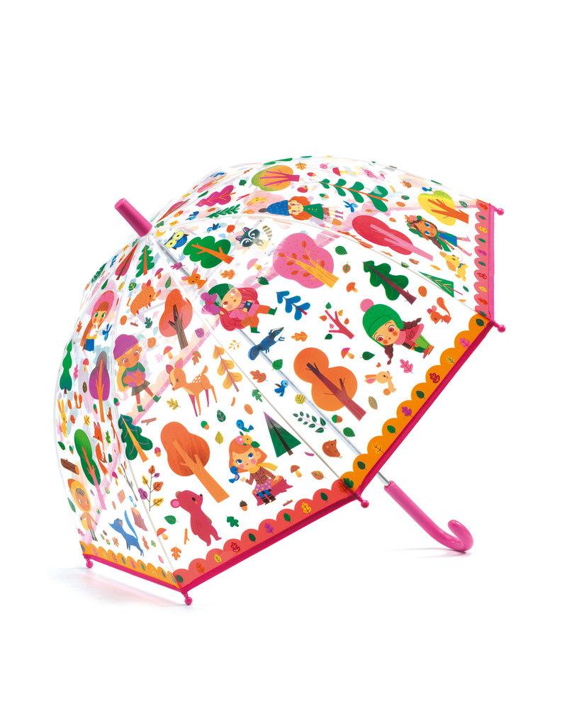 Djeco Djeco - Paraplu meisje in bos