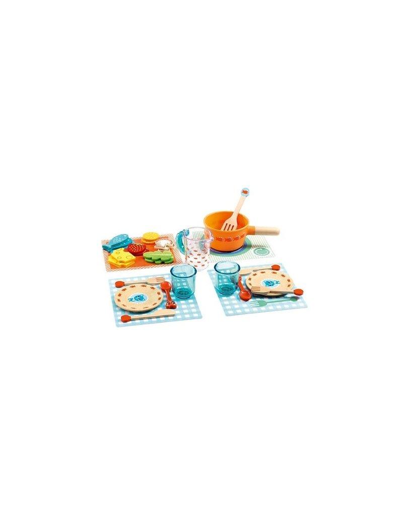 Djeco Djeco - Speelset Aan tafel katten