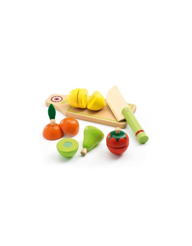 Djeco Djeco - Groente en fruit om te snijden