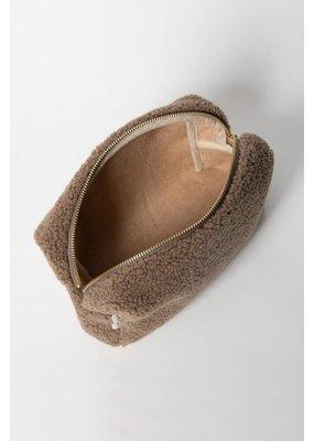 Studio Noos Studio Noos - Chunky Pouch brown teddy