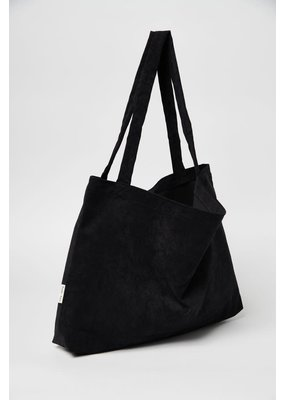 Studio Noos Studio Noos - All black rib mom-bag