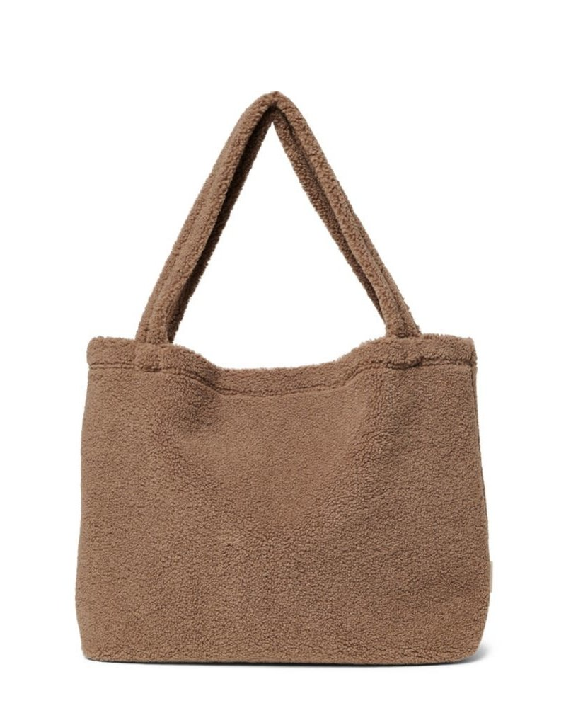 Studio Noos Studio Noos - Brown chunky teddy mom-bag
