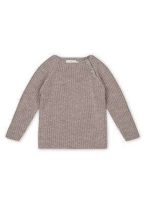 Konges Sløjd Konges Sløjd - Toma knit blouse - Paloma brown 4Y
