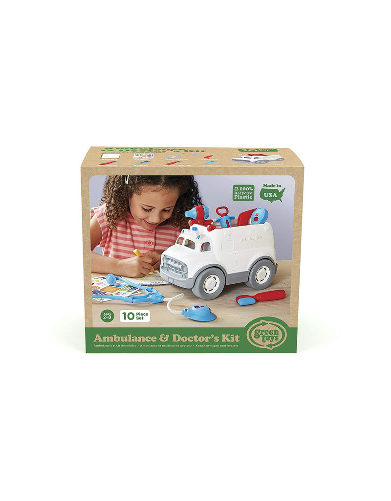 Greentoys Green Toys - ambulance & doktersset