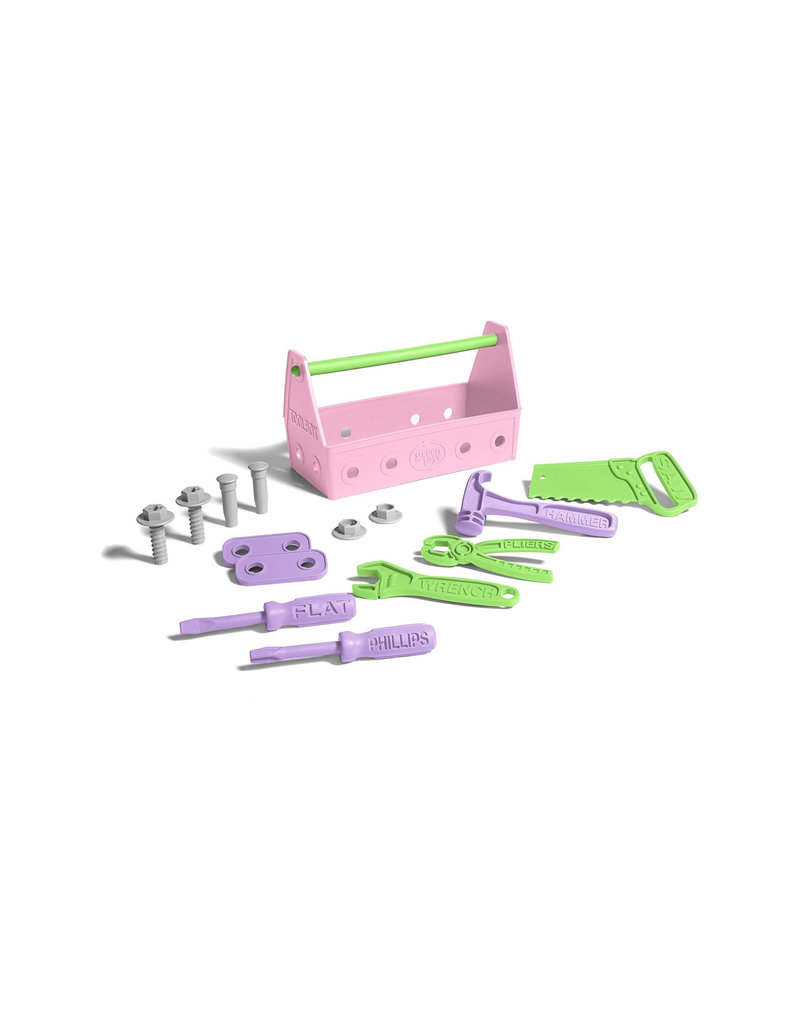Greentoys Green Toys - tool set - pink