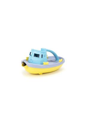 Greentoys Green Toys - sleepboot - blauw