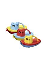 Greentoys Green Toys - sleepboot -  geel met rood